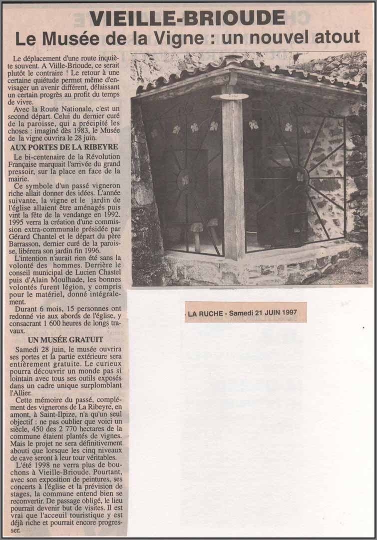 Article juin 97